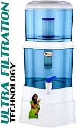 P-ZONE Aquagem 15-liters Gravity Based UF Water Filter