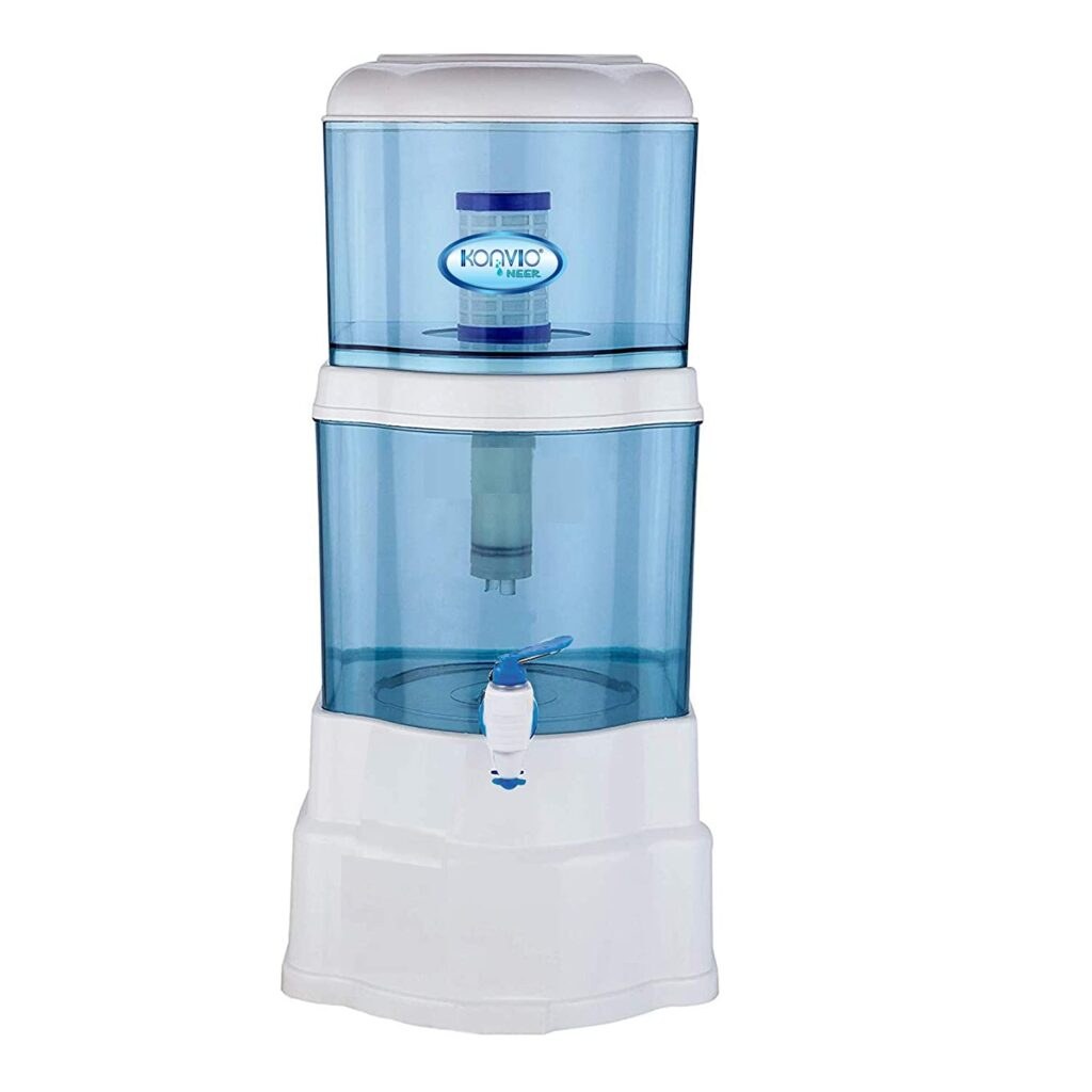 Konvio Neer Gravity Based Non-Electric Water Filter and Purifier