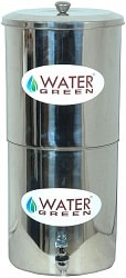 Water Green Stainless Steel Filter